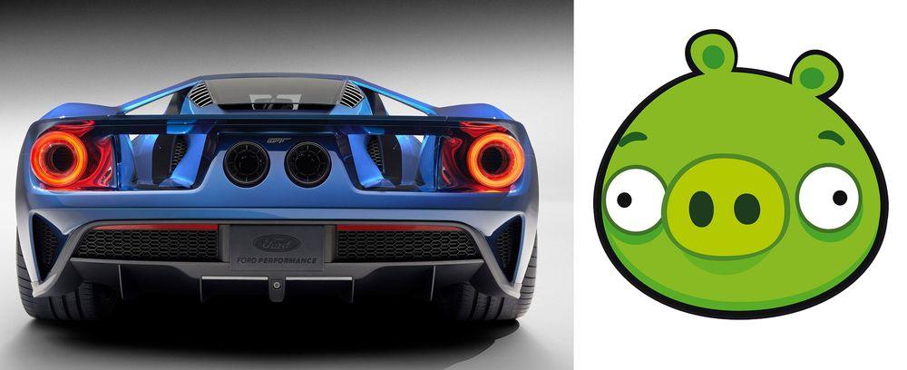 Olağandışı bir şekilde hayvanlara benzeyen 11 araba - komik