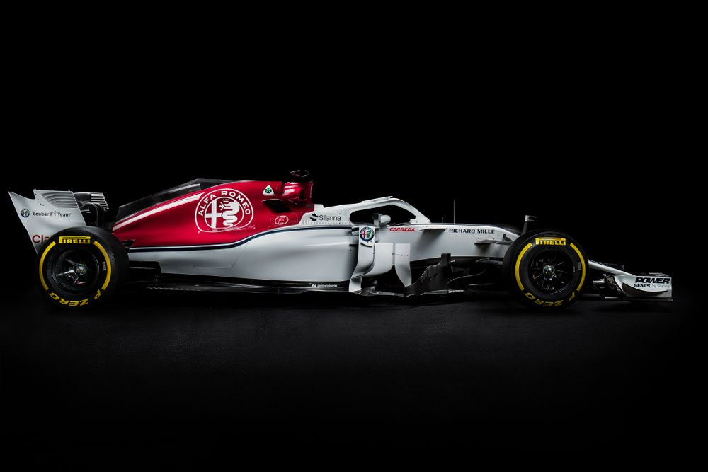Check Out Alfa Romeo Sauber's 2018 F1 Car, The C37 - Formula 1
