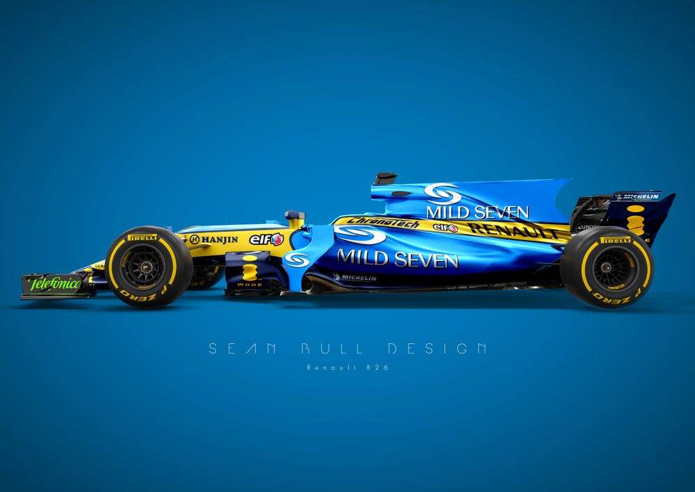 Here S What F1 S Most Iconic Liveries Look Like On A 2017 Car