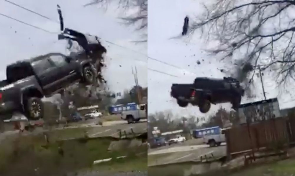 Escaped Convict Launches Pickup Into The Air As Police Chase Ends In Most Michael Bay Way Possible - News