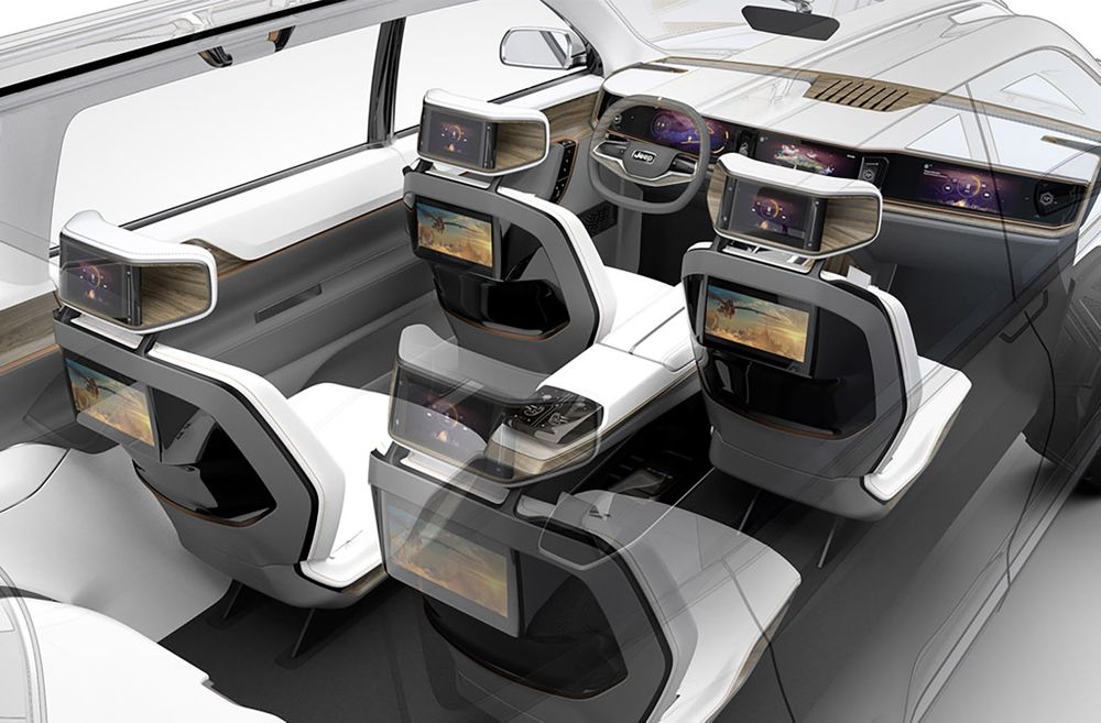 I love the interior especially the rear centre console . Sweet.