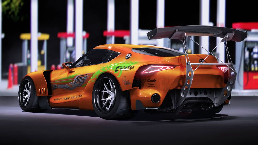 Here's What Classic Fast And Furious Liveries Look Like On Modern Cars - Car Art