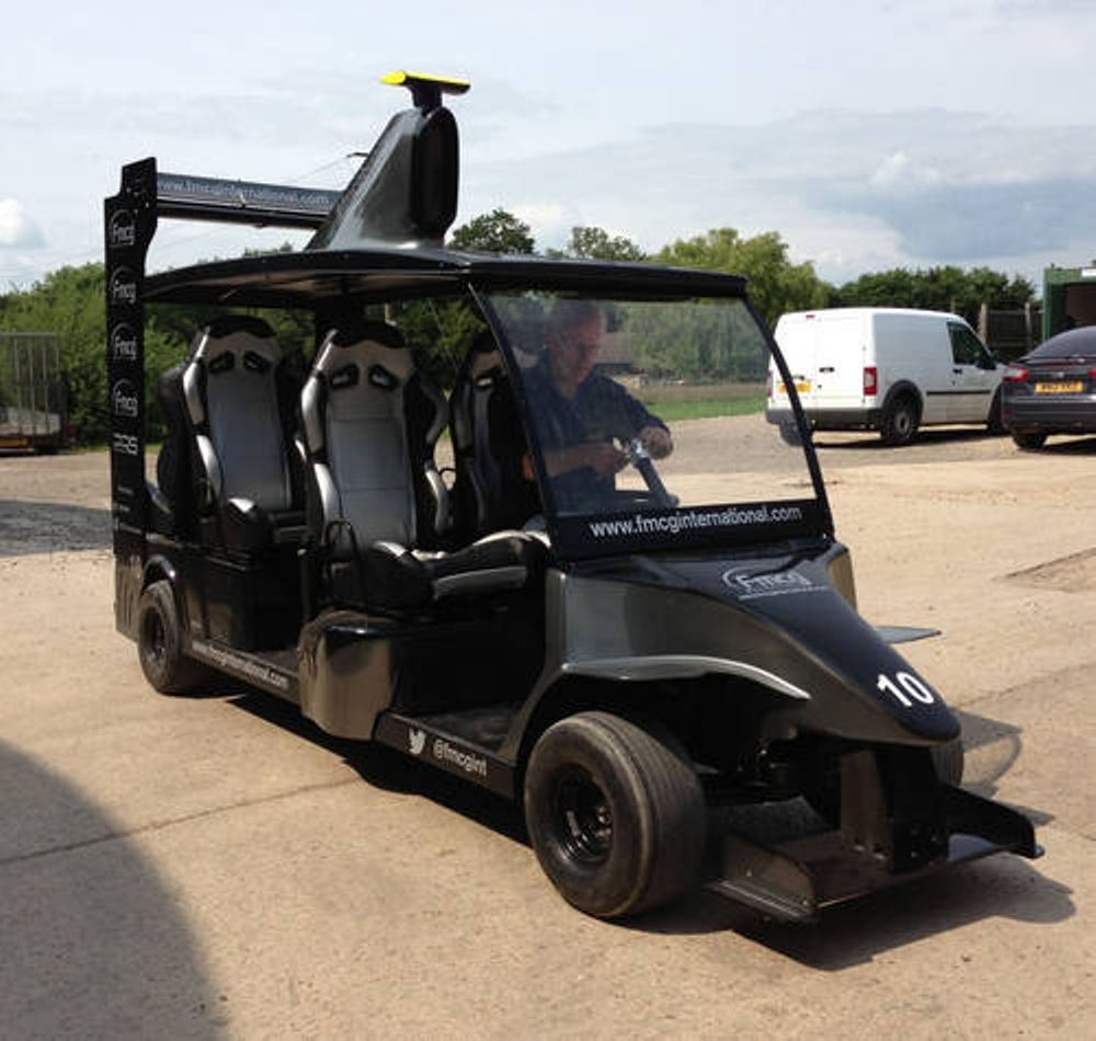 This Bizarre F1-Style Golf Buggy Is Up For Sale