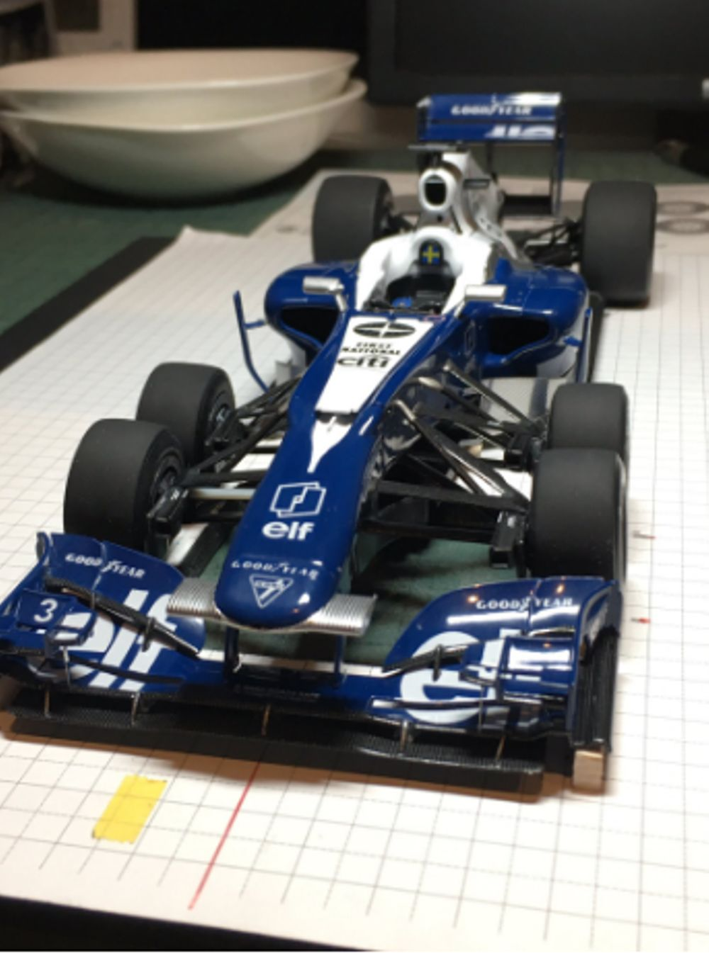 This Custom Model Of A Modern Tyrrell P34 Is Absolutely