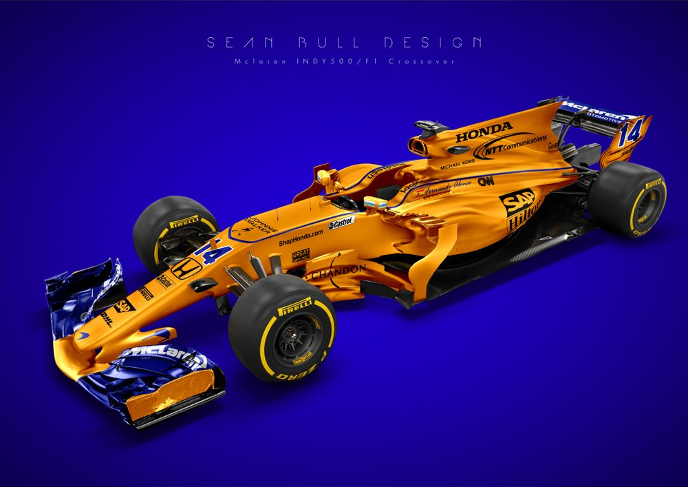 Fernando Alonso's Indy 500 Livery Looks Epic On An F1 Car