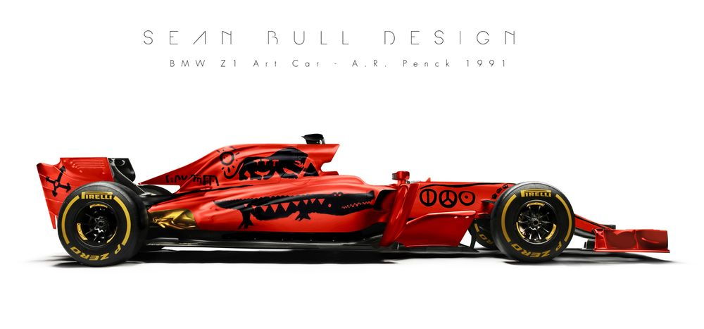 Heres What BMW Art Car Designs Would Look Like In F - Cool car art
