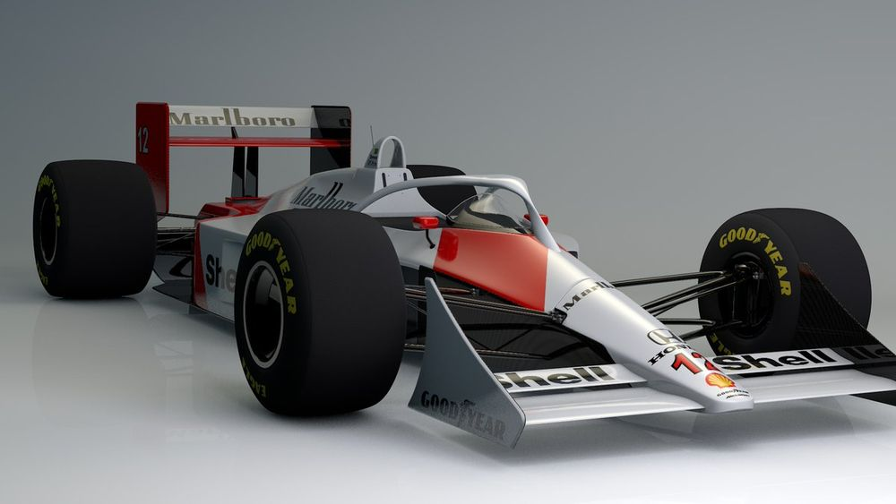 Here\'s What F1 Cars Of The Past Would Look Like With Halos