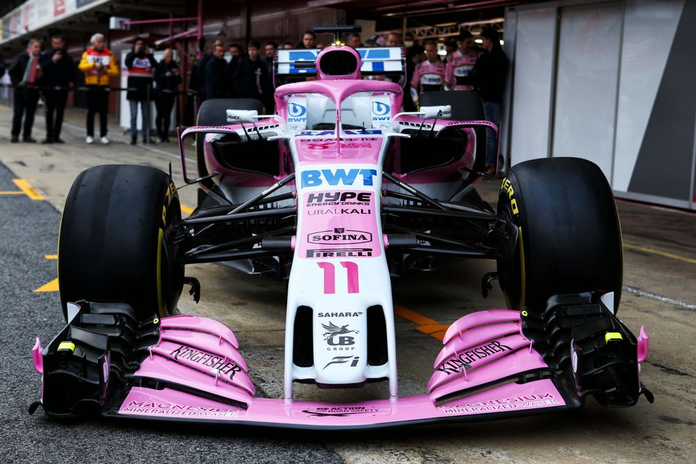 Force India Completes The 2018 Grid With The VJM11 - Formula 1