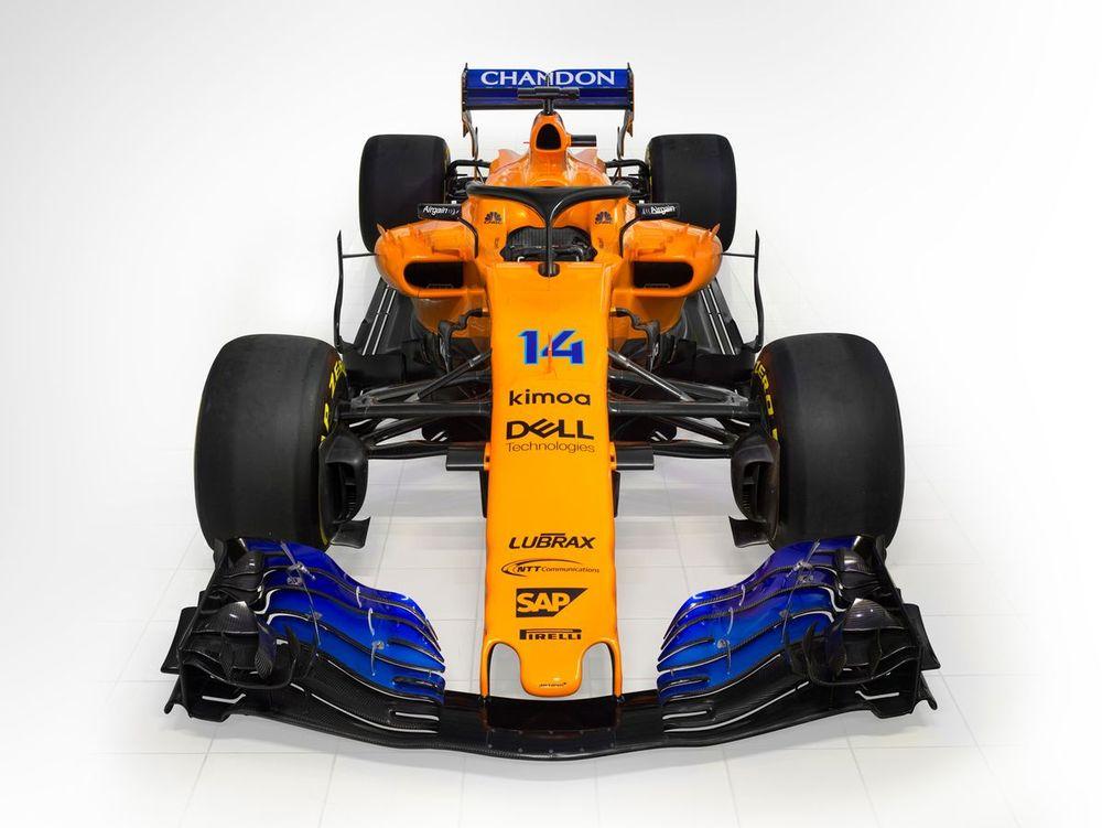 McLaren Reveals Its 2018 F1 Car In The Famous Papaya Orange - Formula 1
