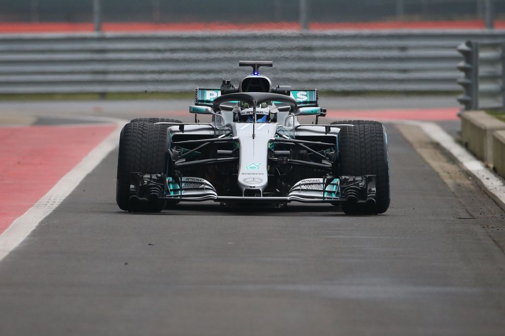 Here's A Look At Mercedes' 2018 F1 Contender, The W09 - Formula 1