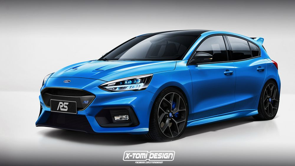 Ford - Here's What The Next Ford Focus RS Could Look Like - News