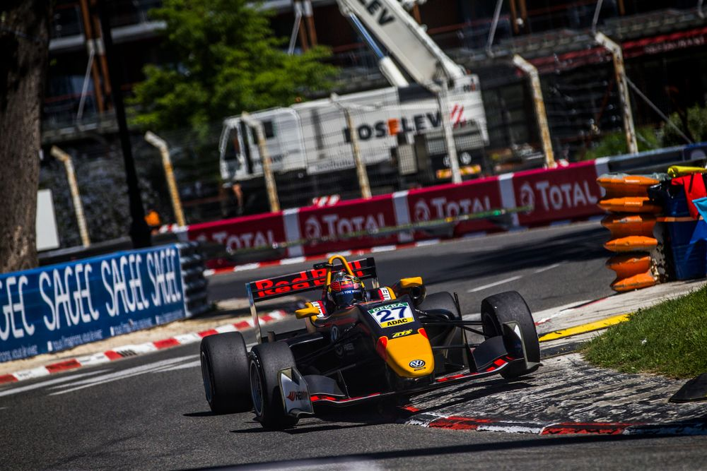 Ticktum is rebuilding his career after serving a year-long ban for deliberately causing a collision in an MSA Formula race in 2015. (c) Red Bull Content Pool