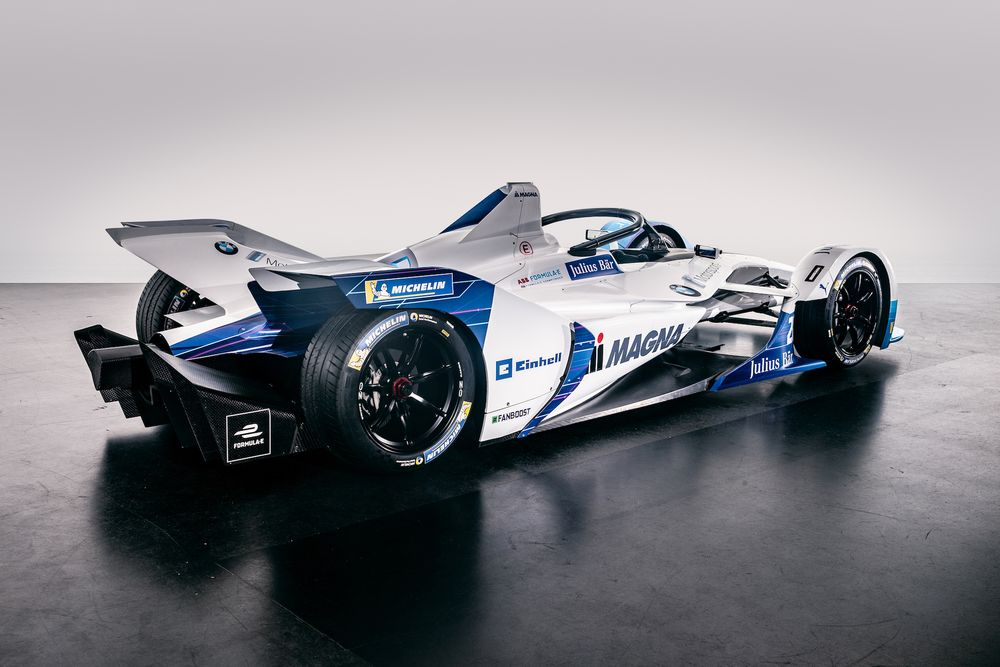 Bmw Has Revealed Its Season 5 Formula E Livery And Driver Line Up