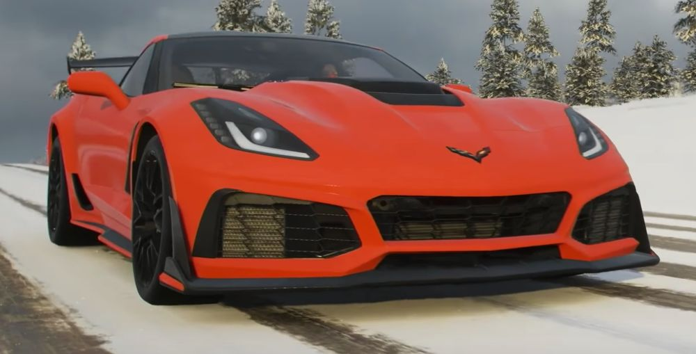 Corvette ZR1 Among New Cars In Forza Horizon 4's December Pass - Gaming