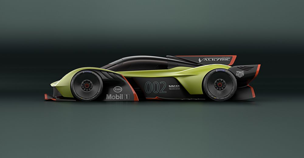 Aston Martin Will Return To The Top Class Of Le Mans With The Newey-Designed Valkyrie