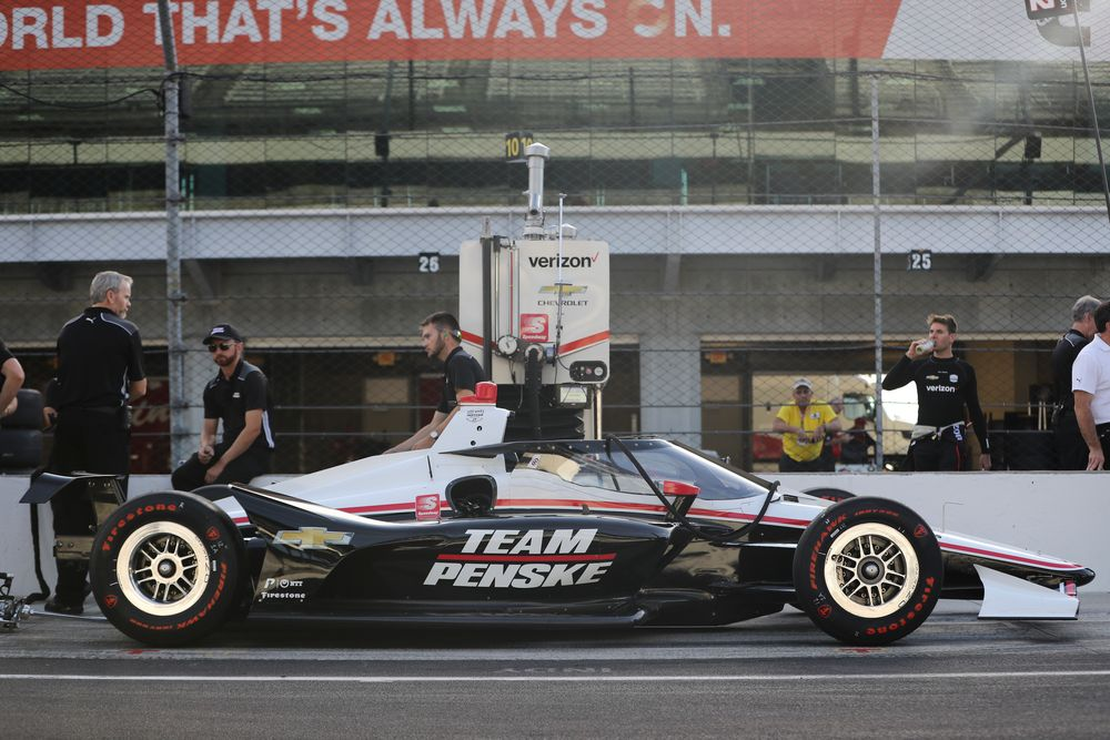 IndyCar Has Been Testing Its New Aeroscreen Device On The Track