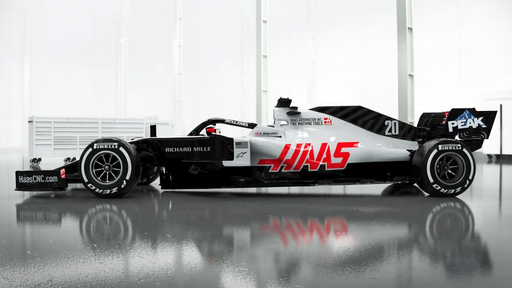 Haas Has Dropped The First Images Of A 2020 F1 Car - Formula 1