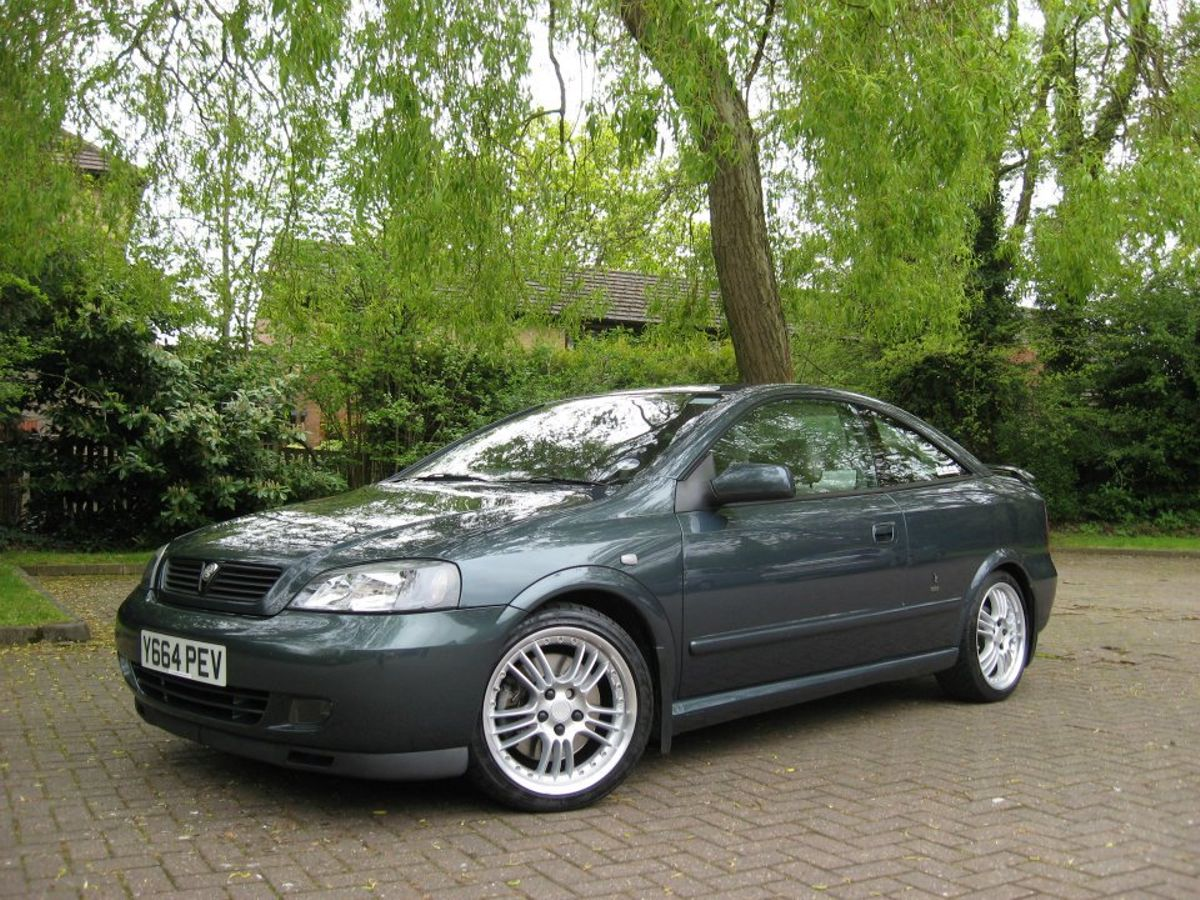 2001 Vauxhall Astra Coupe Turbo in rare ural mountain