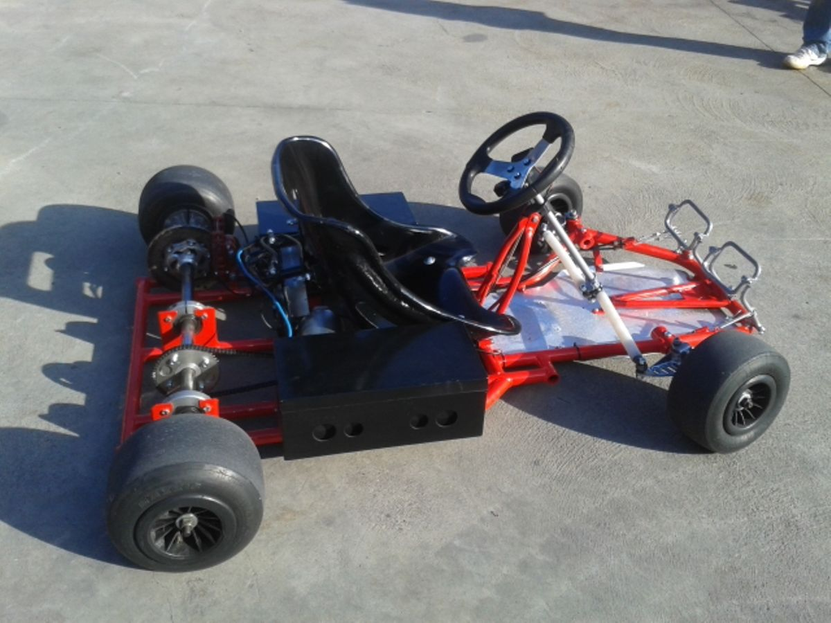 how to make a electric go kart homemade