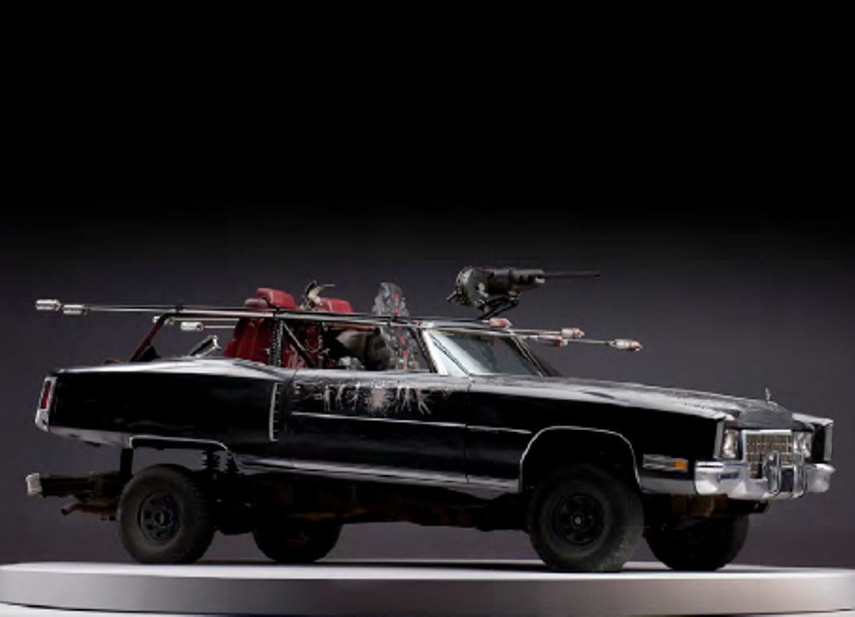 Fancy Buying A Collection Of Mad Mad: Fury Road Vehicles