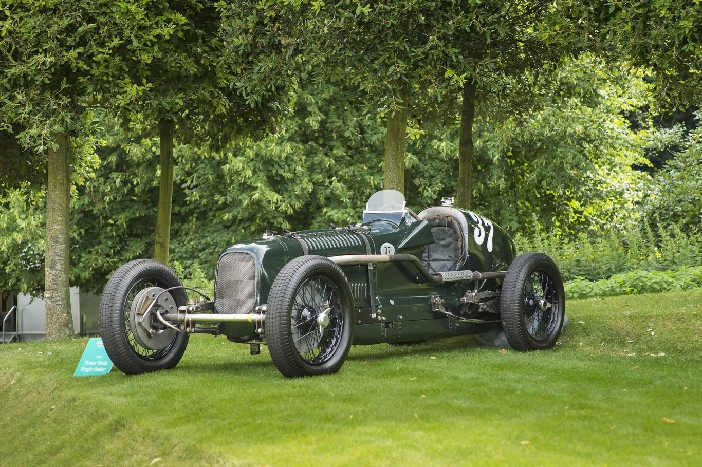 1935 Frazer Nash twin-supercharged single-seater