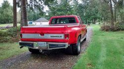 1983 Chevrolet Silverado C30 3+3, 1 ton Dually Pickup truck