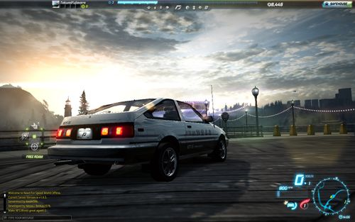 My attempt at Takumi's AE86 in NFS World Offline IS IT GUD