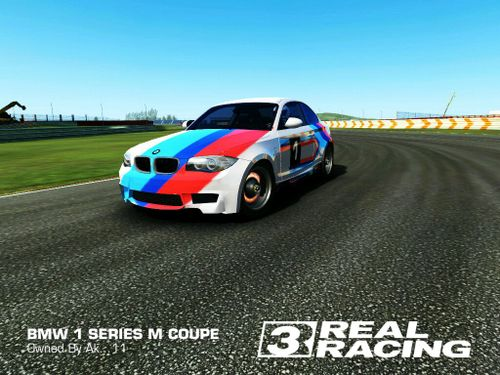 bmw 1 series m coupe real racing 3