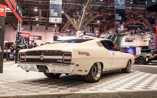 Tom Bailey's Sled Alley Twin Turbo '69 Ford Torino Talladega