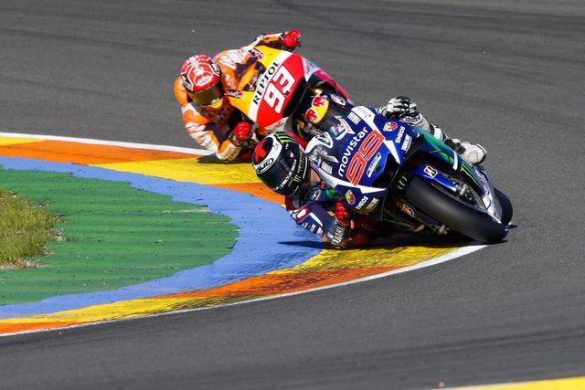 Rossi Slams Marquez Says He Embarrassed Motogp In Valencia