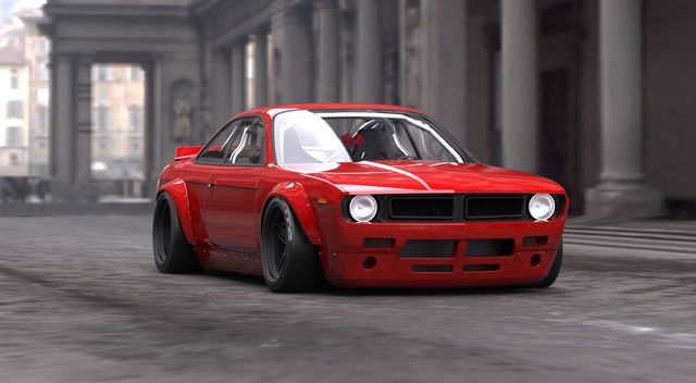 Make Your Nissan 200sx Look Like A Retro Muscle Car With This Awesome Rocket Bunny Body Kit