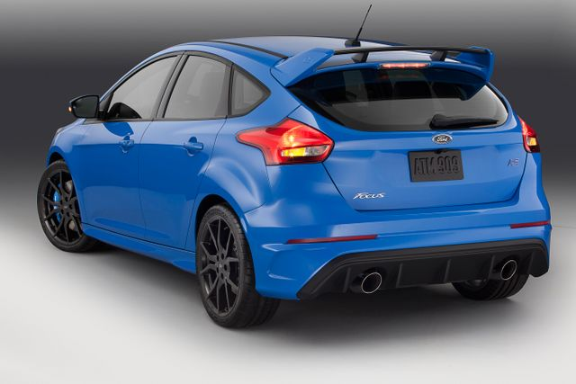 Blue Ford Focus >> The Ford Focus Rs S Nitrous Blue Signature Colour Has Been
