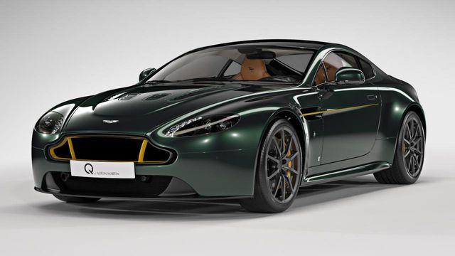 The Aston Martin V12 Vantage S Spitfire 80 Is So British It Hurts