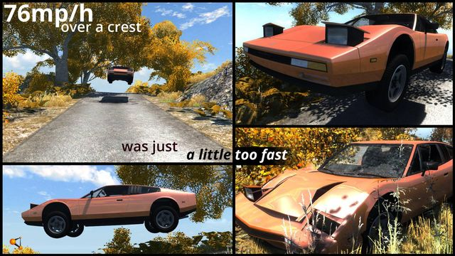 Beamng Drive Raises Car Game Physics To Insane New Levels