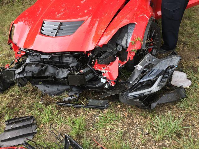 UPDATE: Inexperienced C7 Corvette Z06 Driver Crashes His