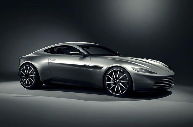 Say Hello To James Bond S New Ride The Aston Martin Db10