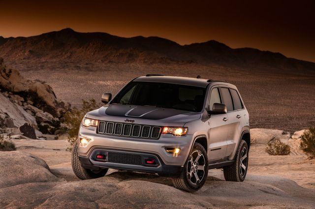 The Terrain-Bashing Jeep Grand Cherokee Trailhawk Is Here