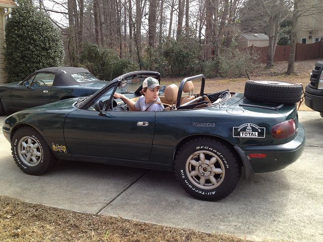 Now's Your Opportunity To Buy A Lifted MX-5