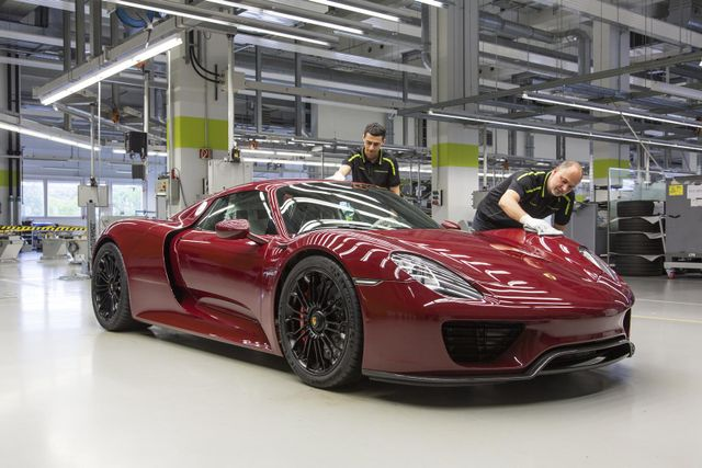 This Is The Last Ever Porsche 918 Spyder