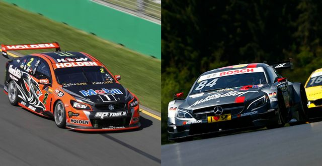 How V8 Supercars Compares To The Dtm Series