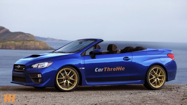 Is There A Place In The World For Subaru Wrx Sti Convertible Like This