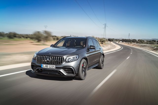 The New Mercedes-AMG GLC 63 Is The C63's Lifted Cousin