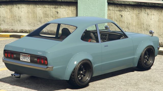 Gta Online S Newest Car Is An Homage To Japanese Coupes Of The 1970s