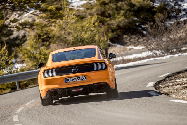 Ford Mustang Advert Banned For Aly Encouraging Dangerous Driving News