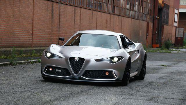 Alfa Romeo 4C >> This Coachbuilt Alfa Romeo 4c Reimagination Is One Big Tease