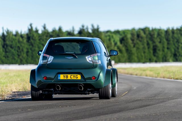Aston Martin Built A 430bhp Cygnet V8 Because A Customer Asked For It