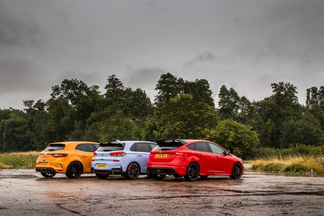 Renault Megane RS Vs Hyundai i30 N Vs Ford Focus RS: Clash