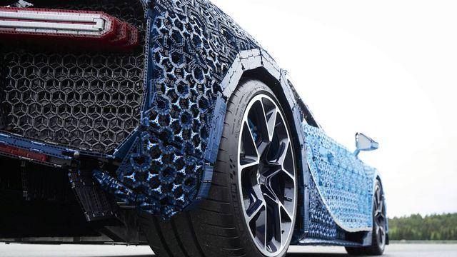 Theres Now A Life Size Driveable Lego Technic Bugatti Chiron
