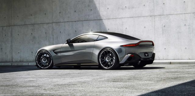German Tuner Pumps Aston Martin Vantage Up To 671bhp
