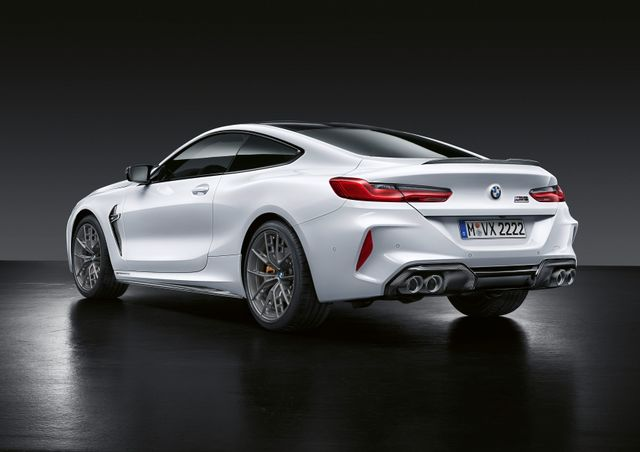 Here S The New Bmw M8 Festooned With M Performance Parts